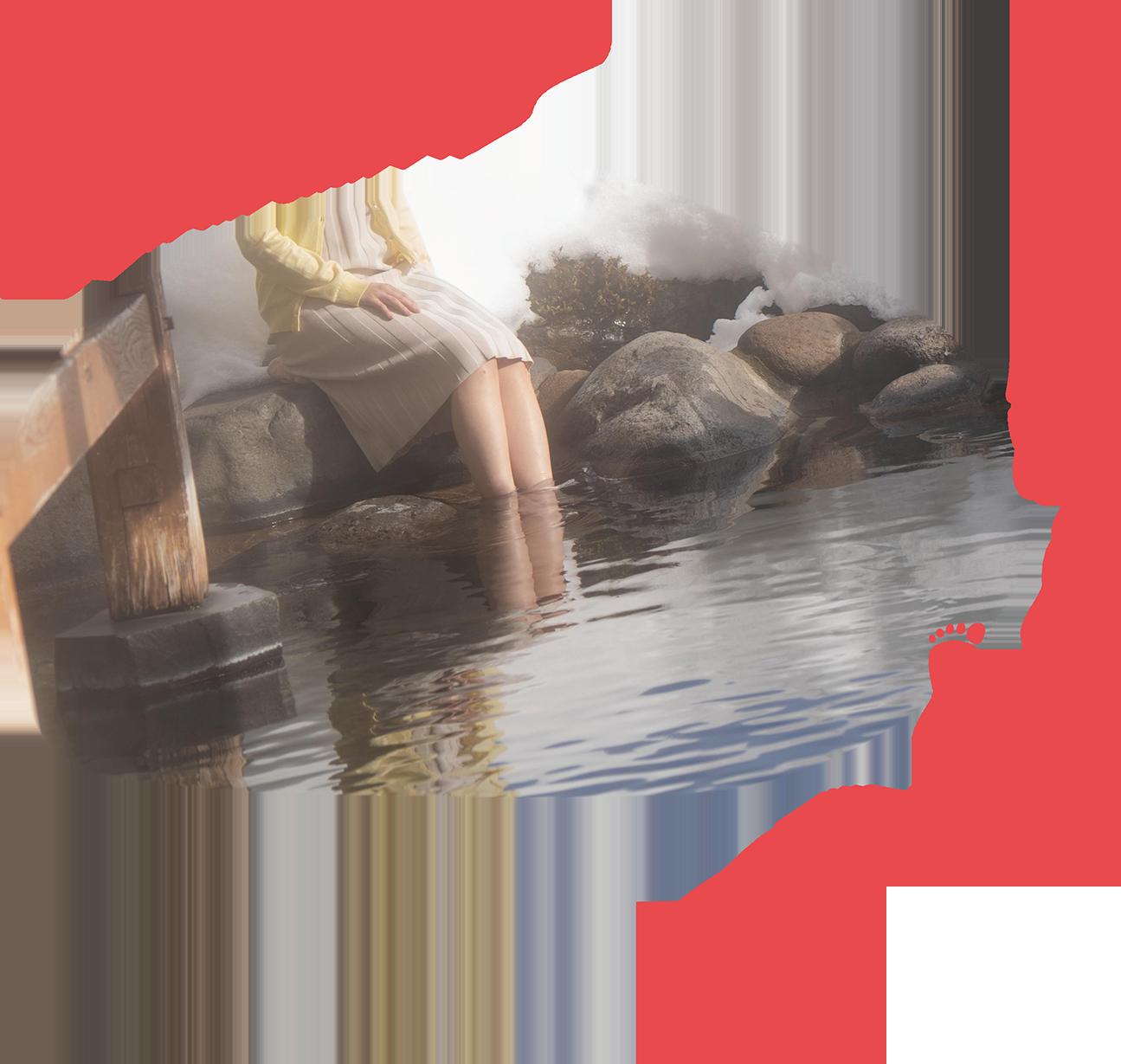 スマホサイト用温泉イメージ