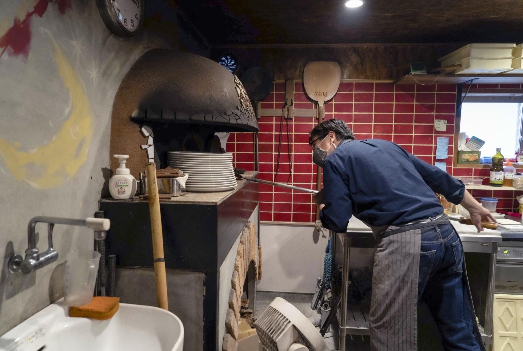 ピザ窯のイメージ